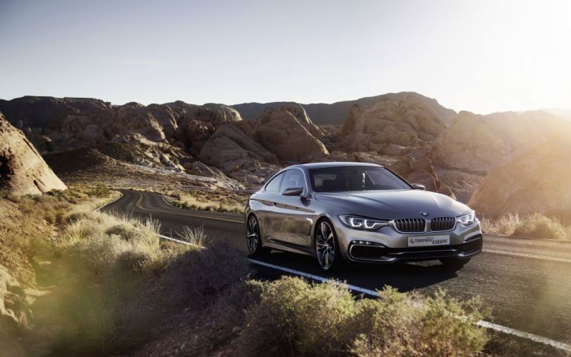 BMW 4 Series Coupe BMW 4 Series Coupe Concept wallpaper
