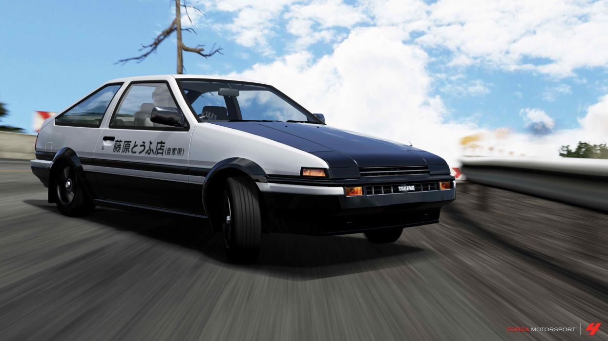 cars Toyota Initial D AE86 JDM Japanese domestic market trueno wallpaper