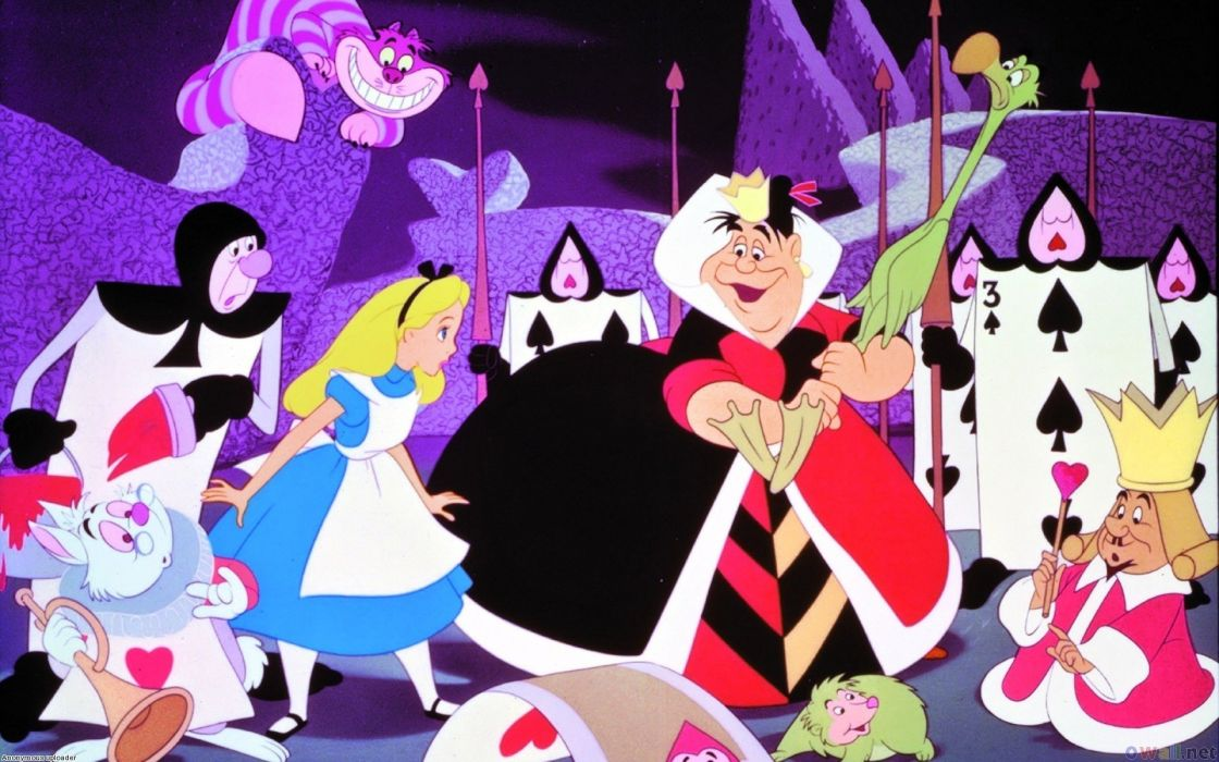 Alice In Wonderland Walt Disney Wallpaper 1920x1200 283527