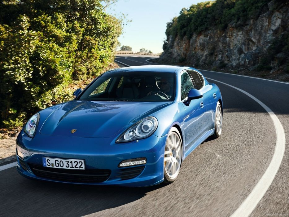 cars Hybrid Porsche Panamera wallpaper