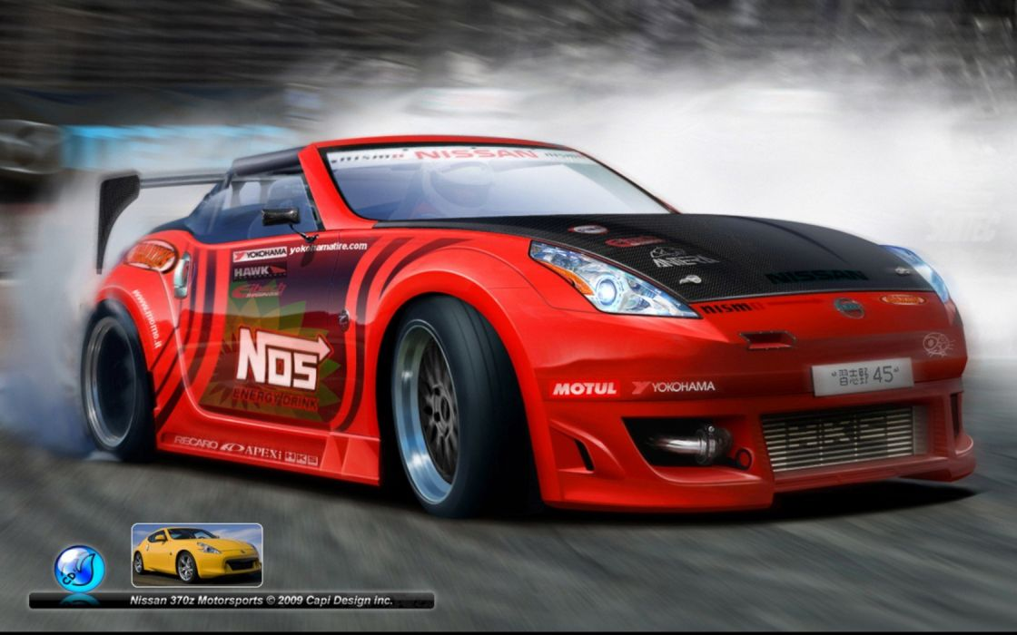 cars Nissan 370Z wallpaper