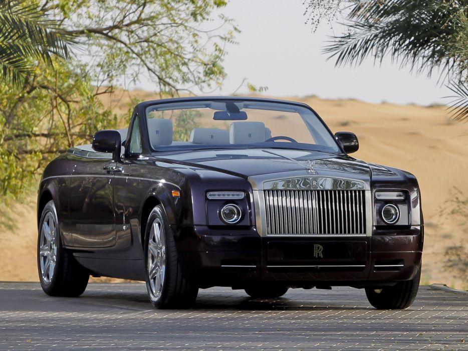 cars Rolls Royce black cars wallpaper