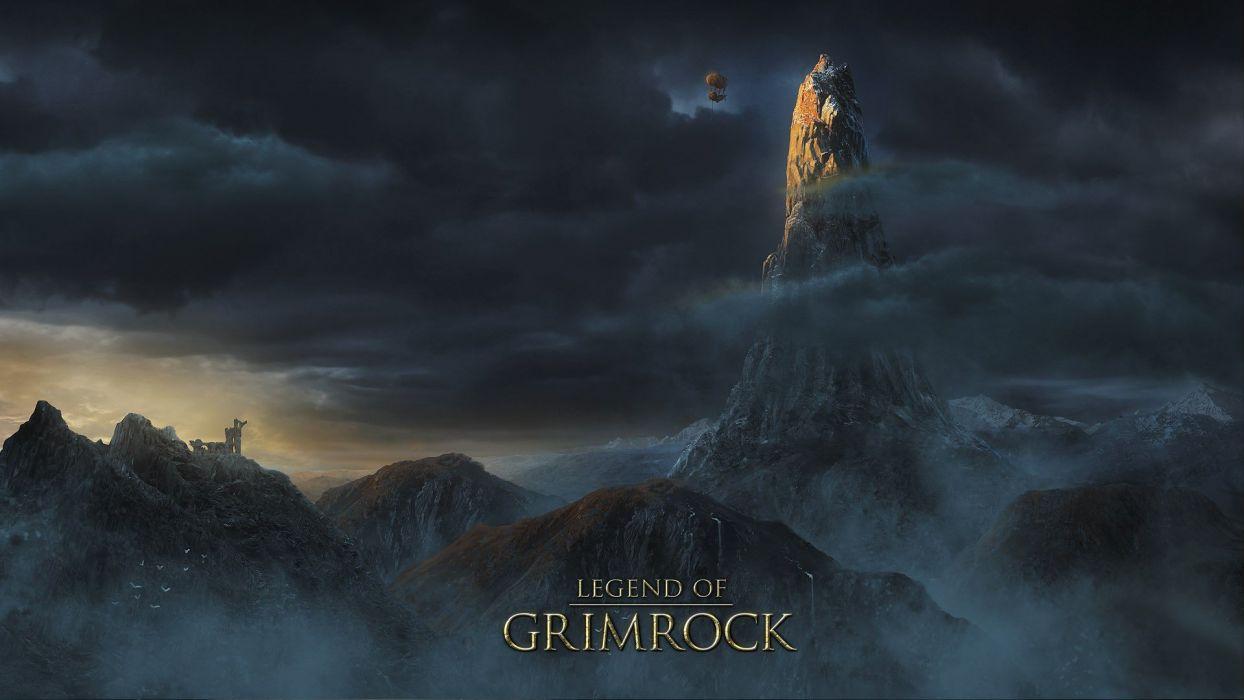 video games legend artwork Legend of Grimrock wallpaper