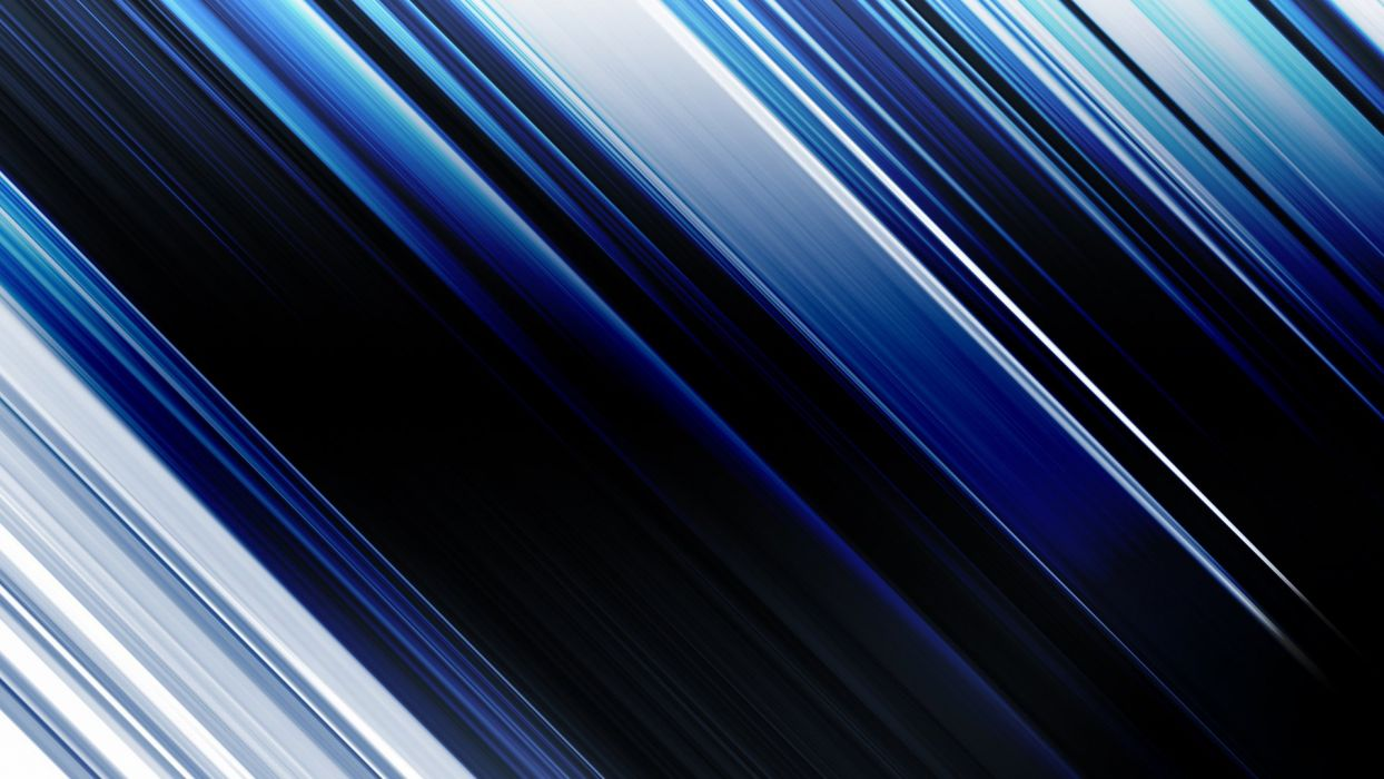 abstract blue lines motion blur wallpaper