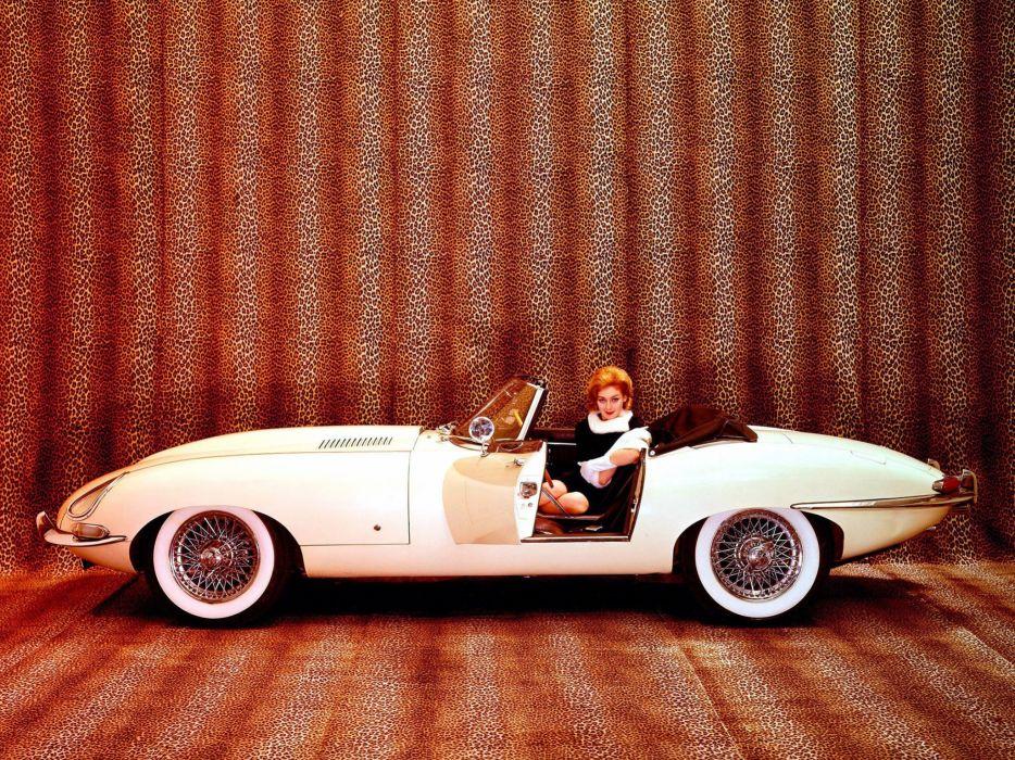 Jaguar series roadster wallpaper