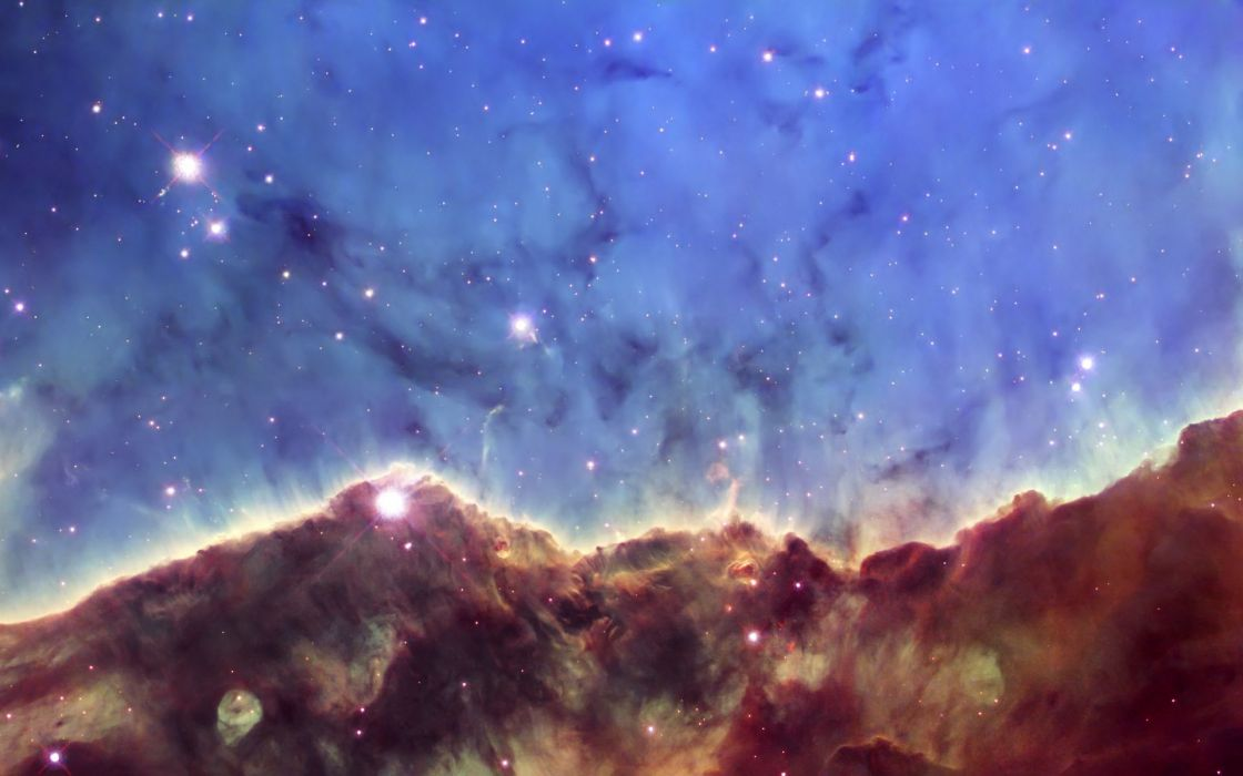 outer space stars nebulae Carina nebula wallpaper