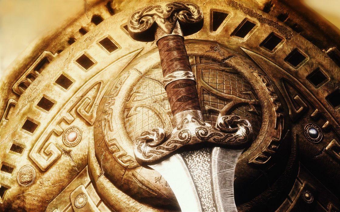 swords wallpaper