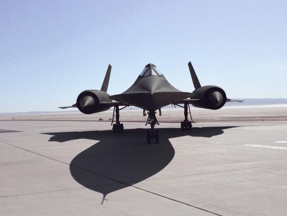 aircraft military SR-71 Blackbird wallpaper