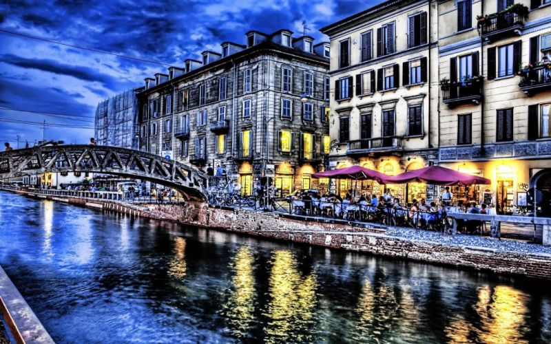 cityscapes HDR photography wallpaper