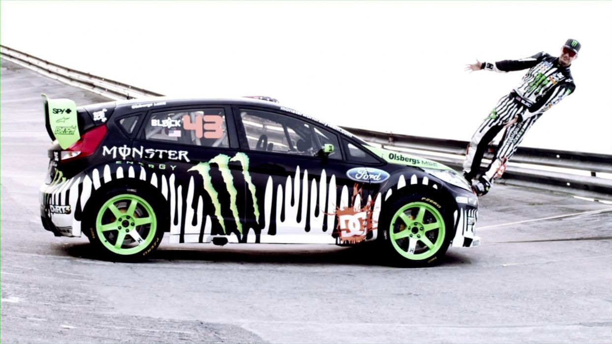 Ken Block Monster Energy Gymkhana wallpaper