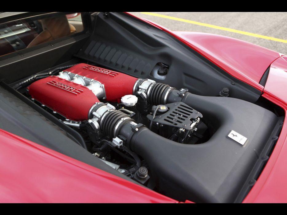 cars engines supercars Ferrari 458 Italia wallpaper