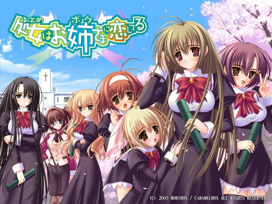 Otome Wa Boku Ni Koishiteru anime girls wallpaper