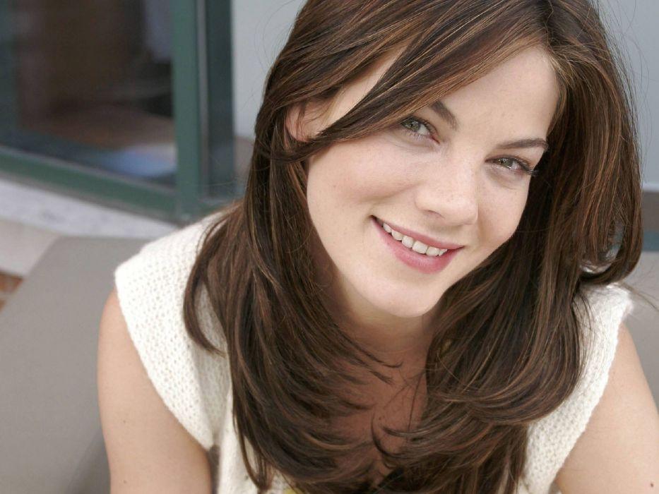 brunettes women actress Michelle Monaghan wallpaper