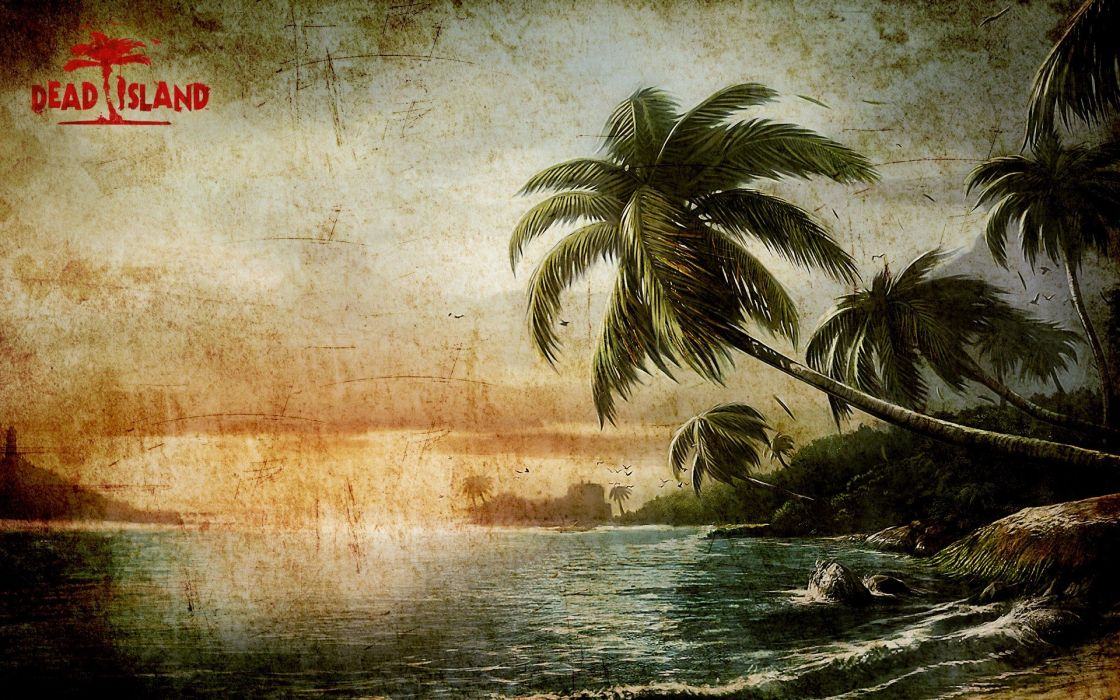 horror video games zombies Dead Island hotels beaches wallpaper
