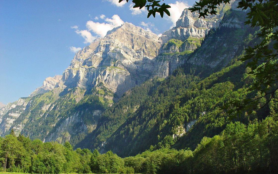 mountains landscapes nature forests wallpaper