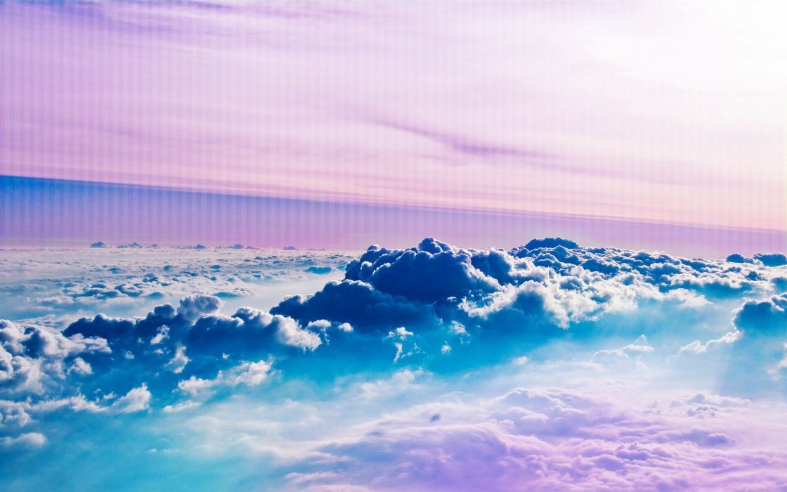 clouds flying skyscapes wallpaper