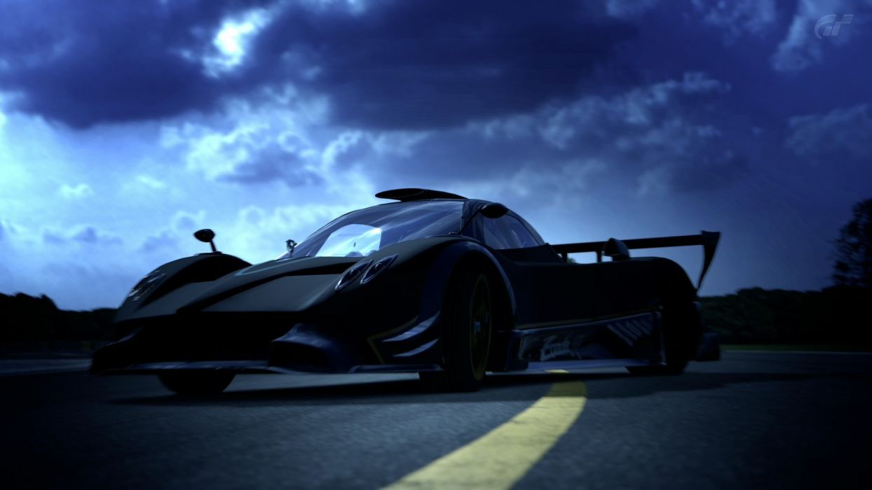 video games cars Pagani Zonda Pagani Zonda R Gran Turismo 5 Playstation 3 wallpaper