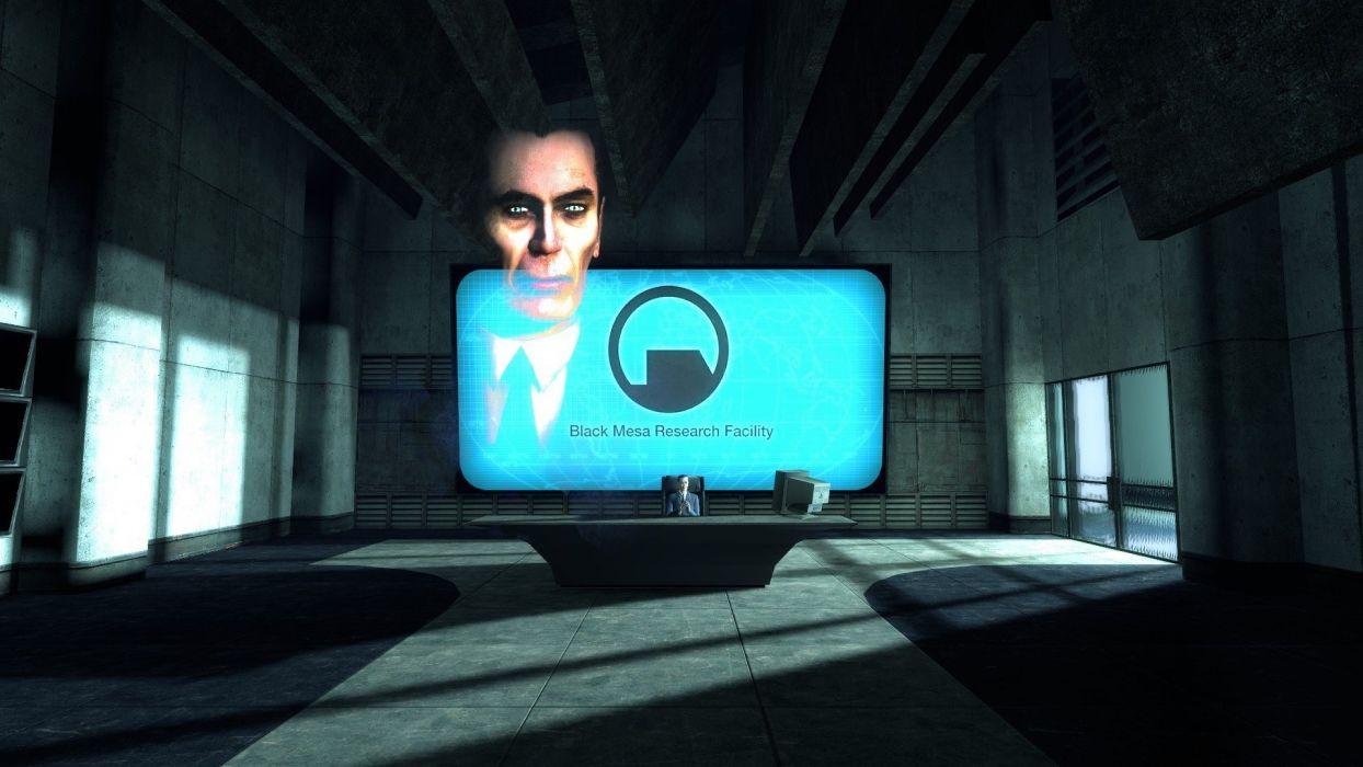 Half-Life Black Mesa G-Man wallpaper