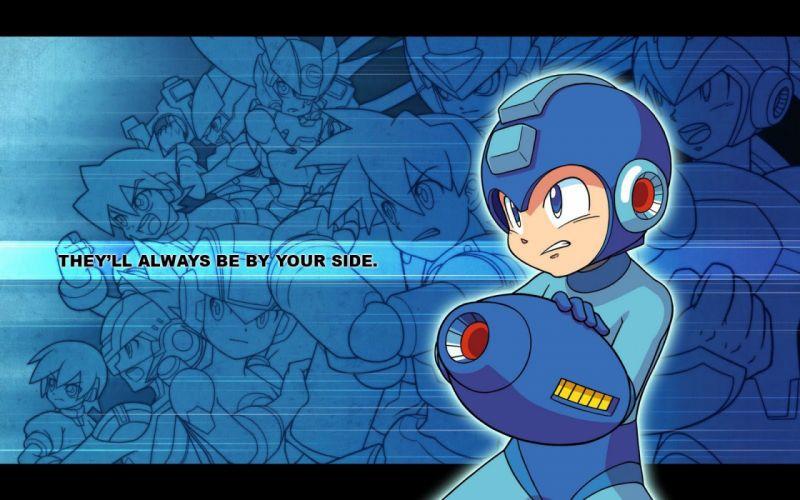 video games Megaman wallpaper