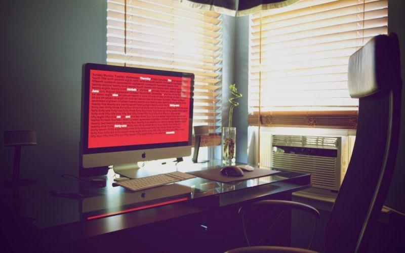 wall iMac Workstation wallpaper