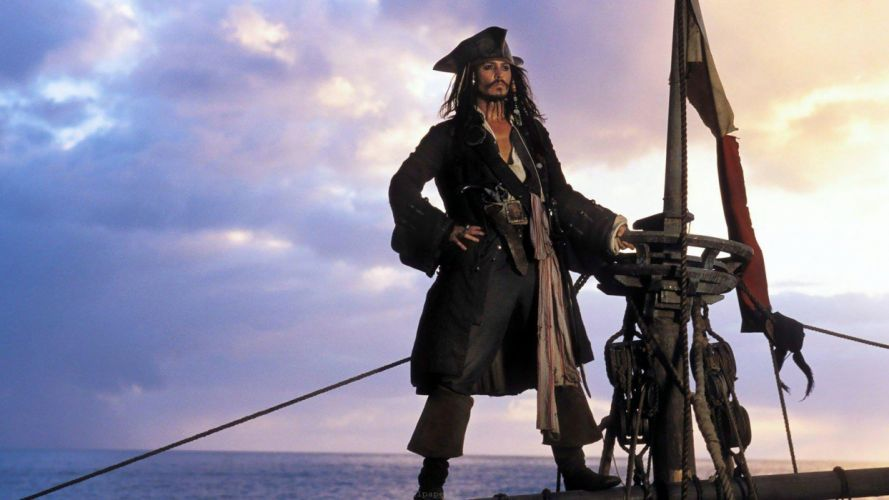 movies Pirates of the Caribbean Jack Sparrow wallpaper