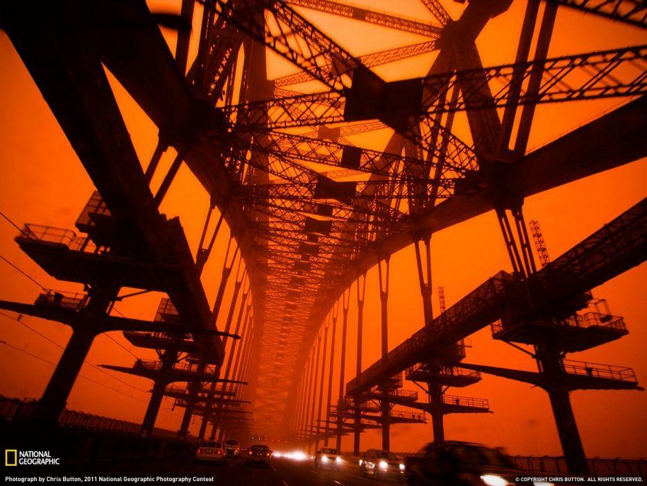 bridges traffic National Geographic wallpaper