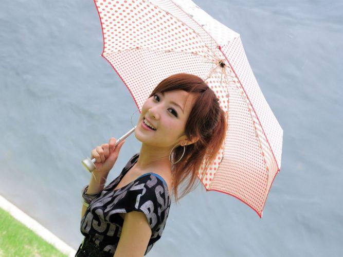 women models Asians Taiwan photo shoot wallpaper