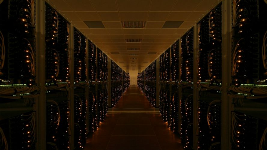 server data center wallpaper