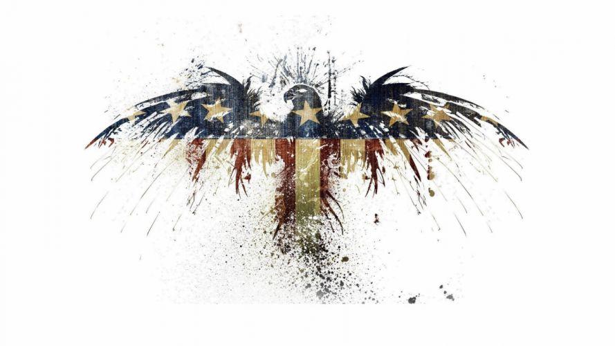 eagles USA white background Alex Cherry wallpaper