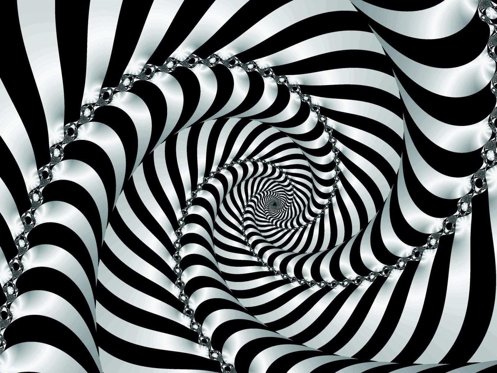 Optical illusions wall...