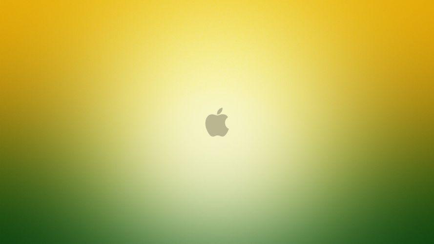 Apple Inc_ technology logos wallpaper