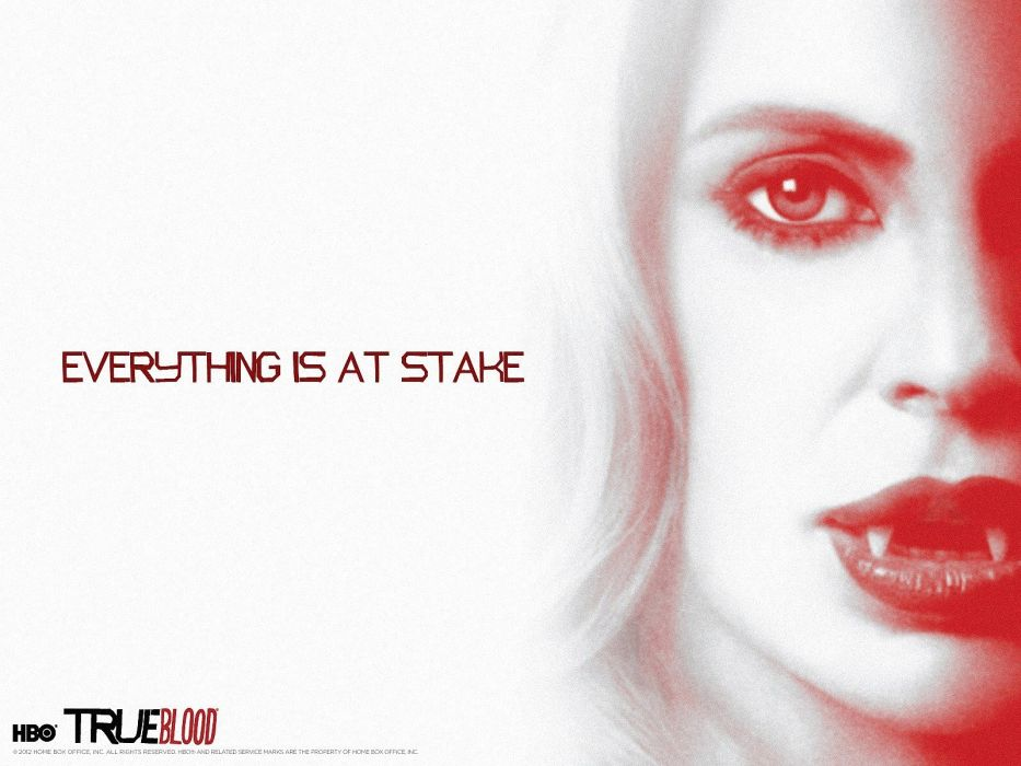 blondes women actress seasons lips True Blood vampires TV series Kristin Bauer Kristin Bauer van Straten wallpaper