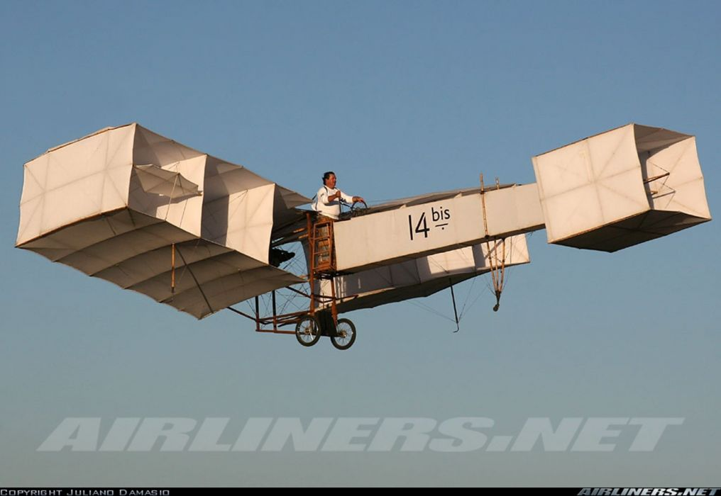 14 bis first aircraft santos dummond brazil wallpaper