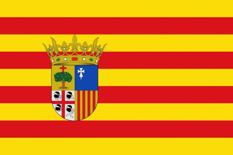 2000px-Bandera de AragA wallpaper