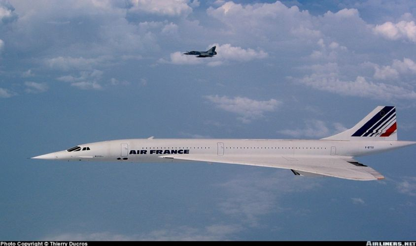 concorde jet air france wallpaper