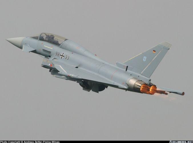 jet fighter germany luftwaffe eurofighter wallpaper
