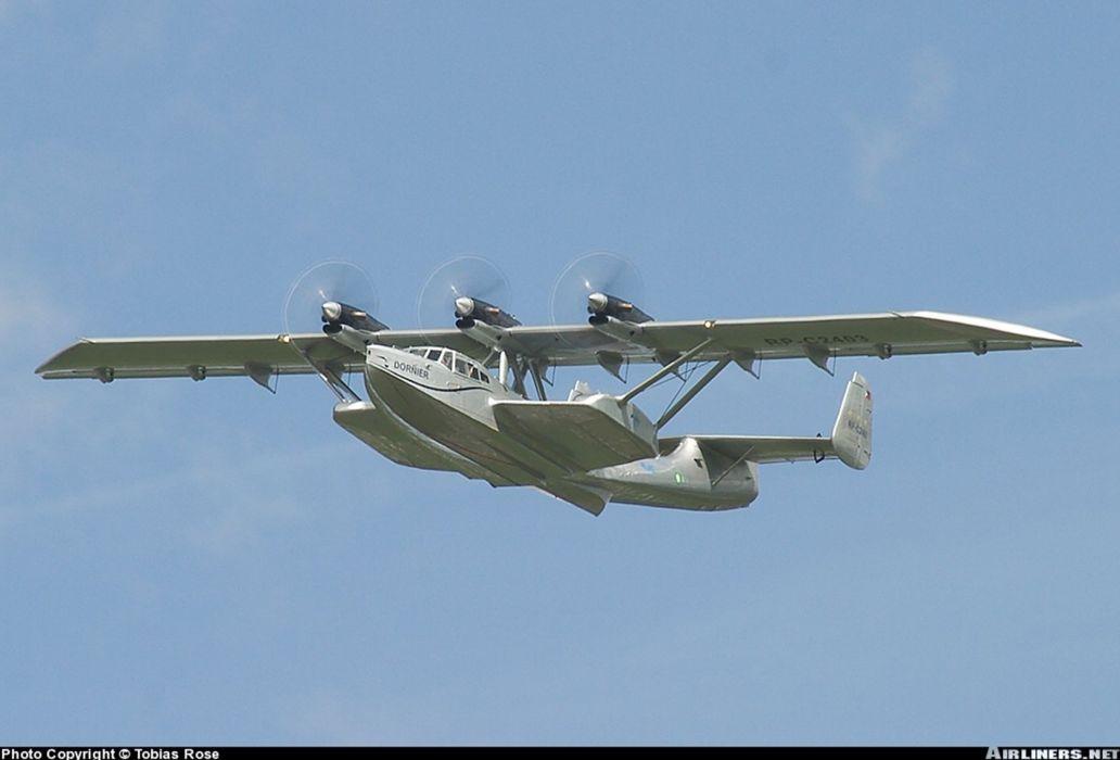 dornier do24t hidroplane germany wallpaper
