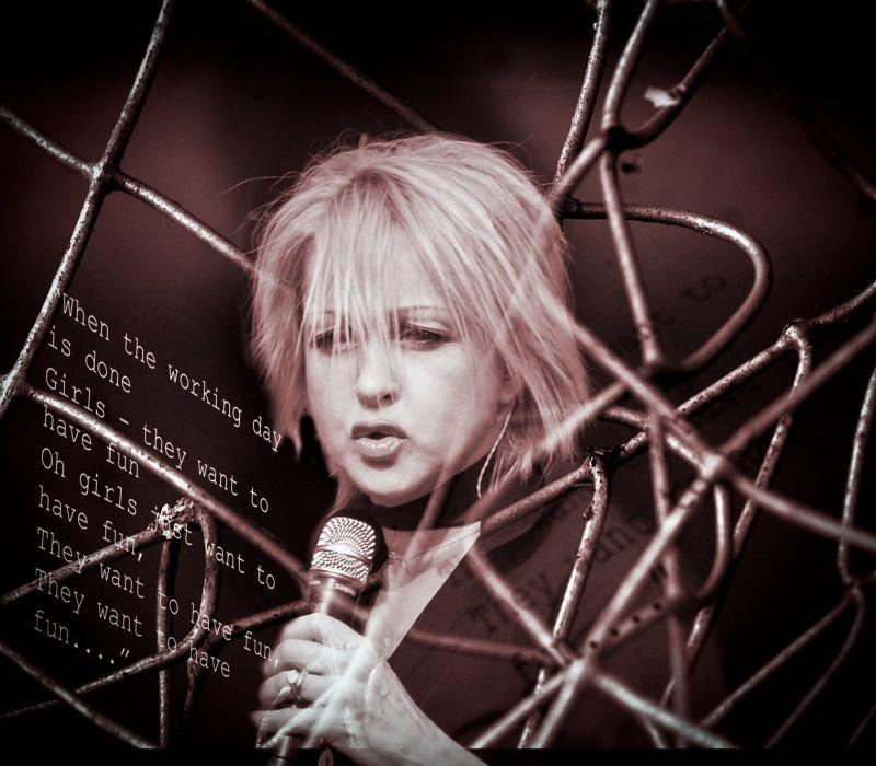 CYNDI LAUPER pop dance new wave glam poster concert wallpaper