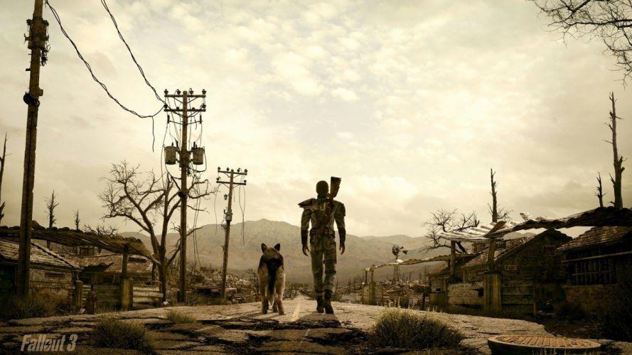 vault Fallout 3 wallpaper