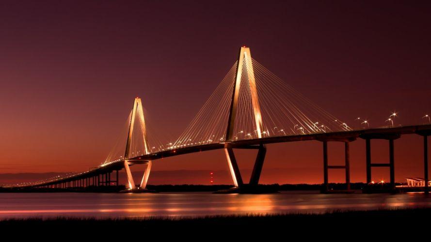 landscapes bridges wallpaper
