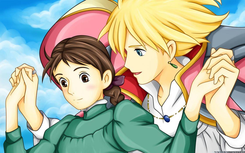 Studio Ghibli Howl's Moving Castle wallpaper