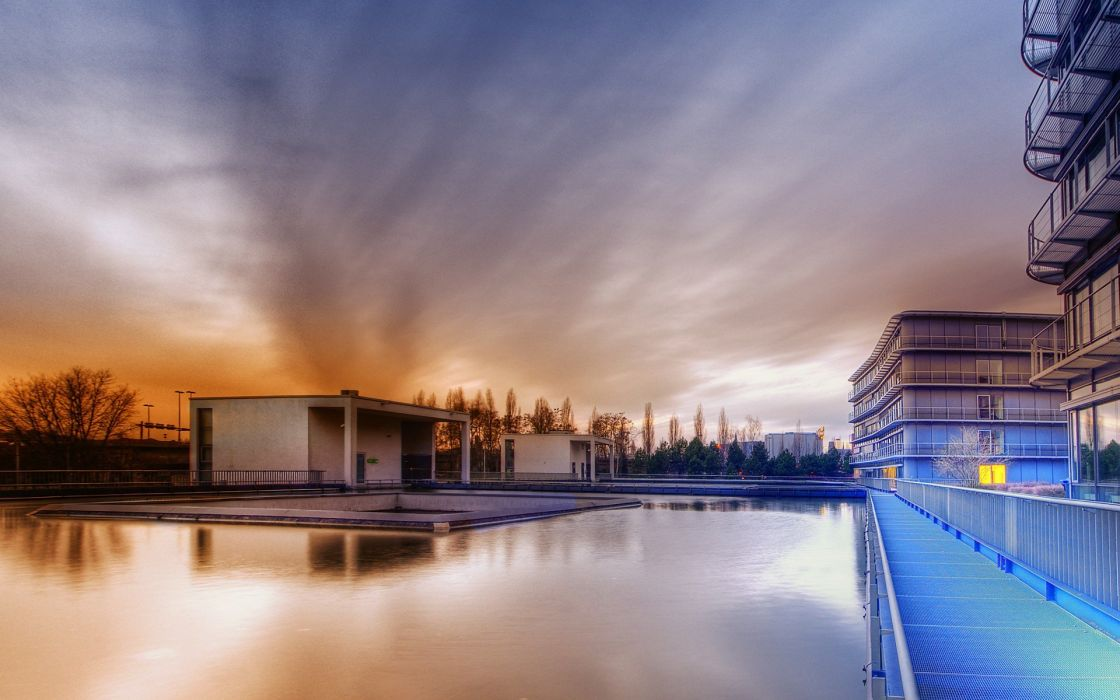 architecture HDR photography wallpaper