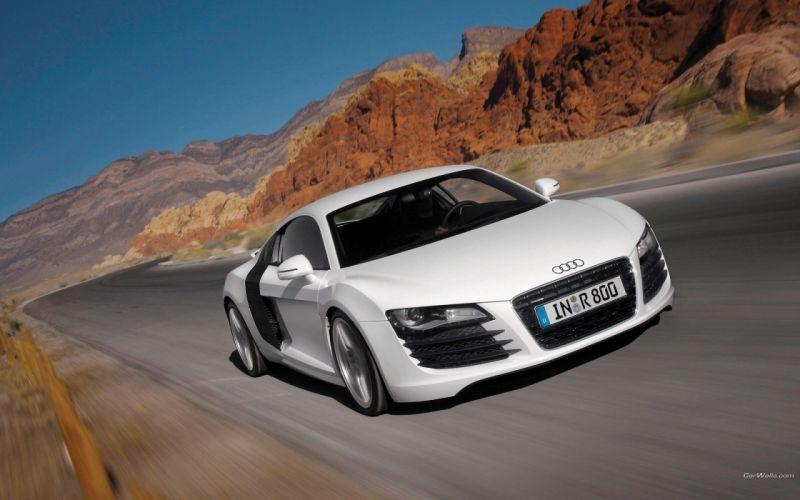cars Audi R8 auto wallpaper