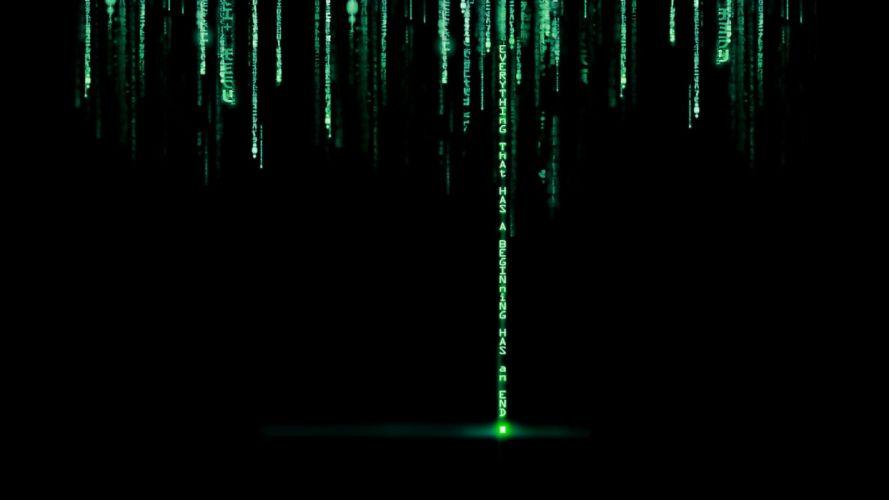 Matrix code wallpaper