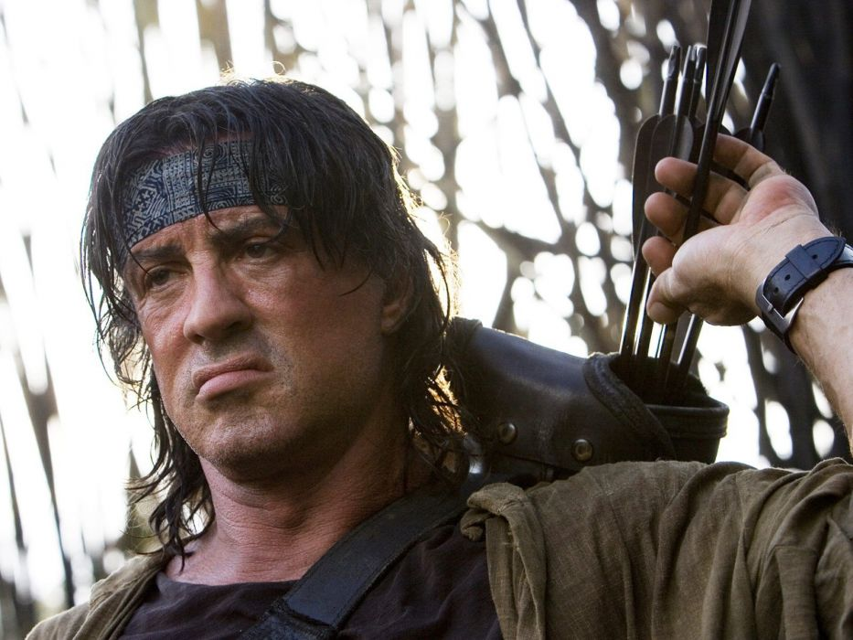 movies Sylvester Stallone Rambo action movie normal wallpaper