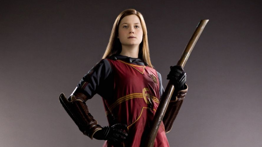 Harry Potter Bonnie Wright Ginny Weasley wallpaper