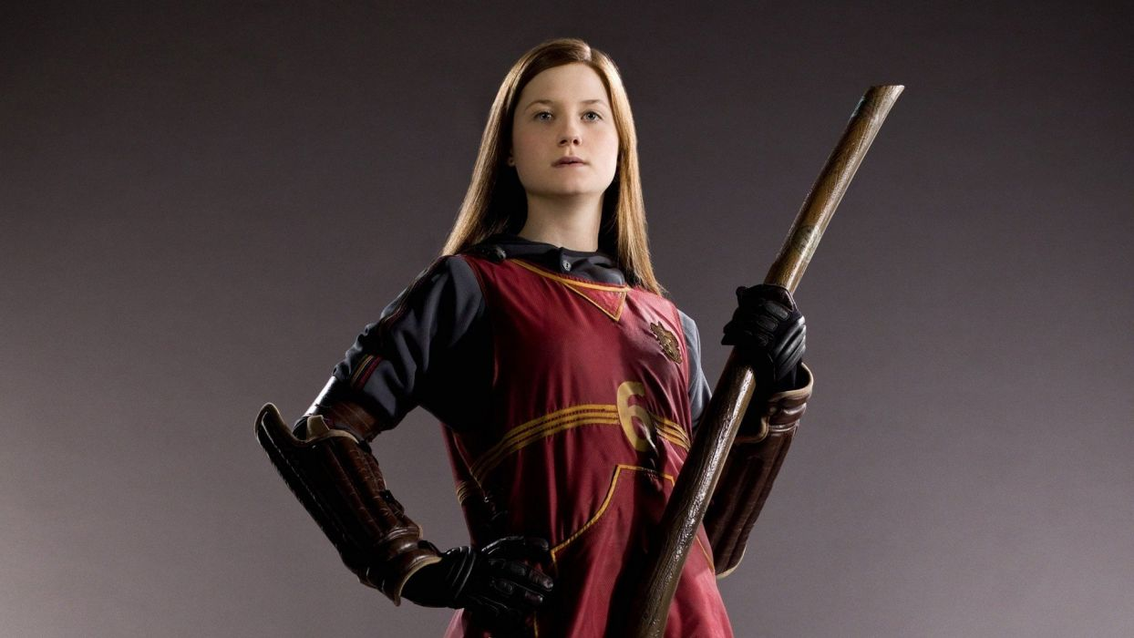 Harry Potter Bonnie Wright Ginny Weasley wallpaper