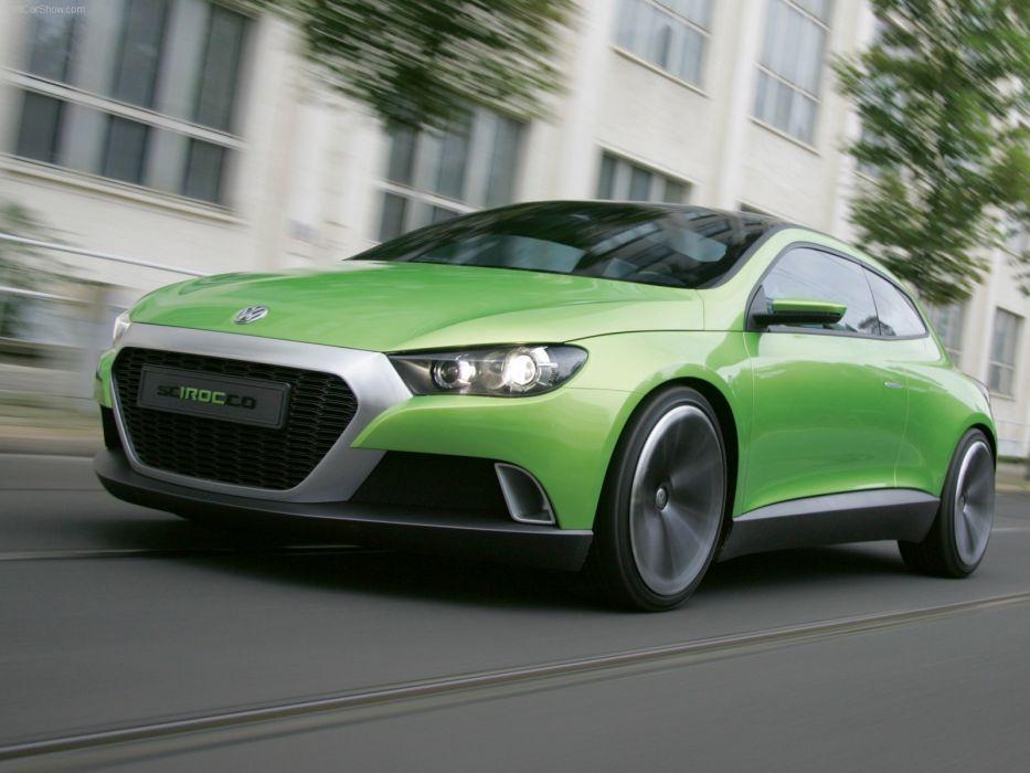 green cars scirocco concept art  Volkswagen iroc volkswagen iroc wallpaper