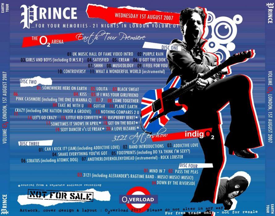 PRINCE singer r-b pop poster wallpaper