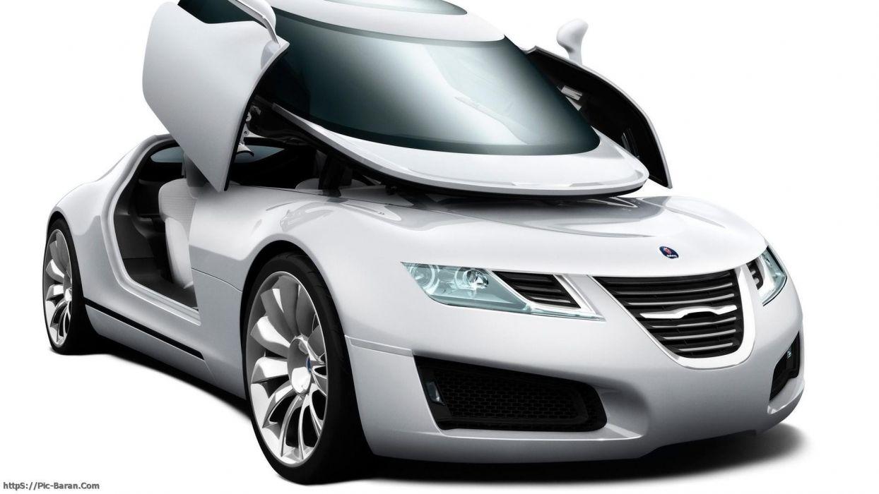 cars Saab aero x wallpaper